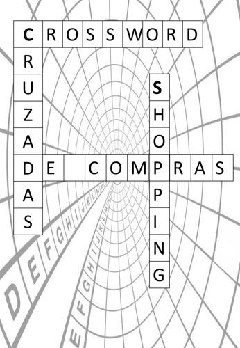 Crossword - De compras/ Shopping