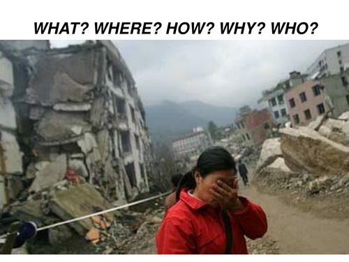 Global Issues / Disasters - ESL Speaking
