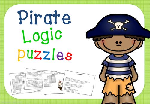 Logic puzzles - pirates!