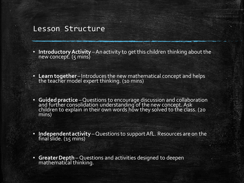 Shape - Year 3 - Mastery - 2 Lessons