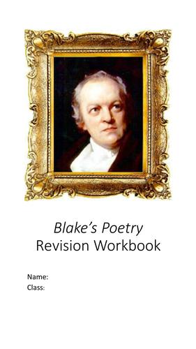 AQA ALevel English Lit Spec B Political Protest Writing Blake Revision