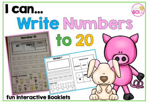 I Can..Write Numbers to 20