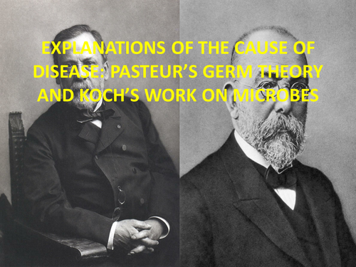 GCSE History Medicine in Britain L12 Pasteur's Germ Theory and Koch's Work on Microbes