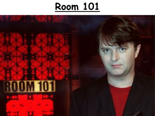Talking lesson - Room 101