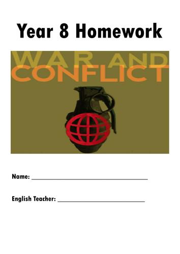 Y8 Half-Term Homework Project - War & Conflict