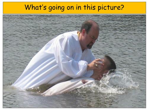 Believer's baptism - adult baptism