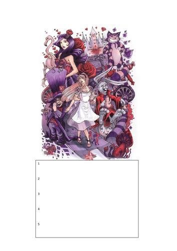 KS3 Drama: Alice in Wonderland: One-off lesson/workshop