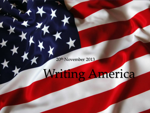 American Short Story SOW