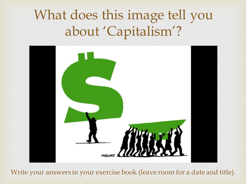 An Inspector Calls - Capitalism and Socialism context