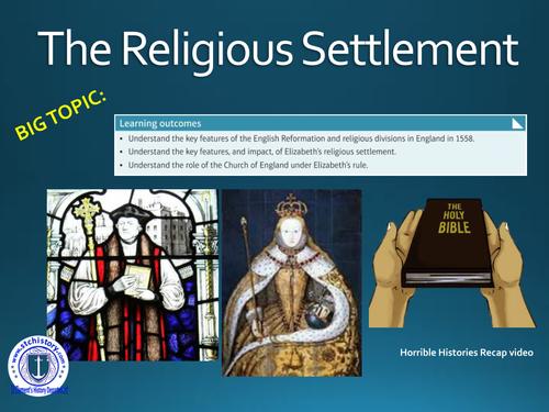 Edexcel 9-1 Elizabethan England - Religious Settlement