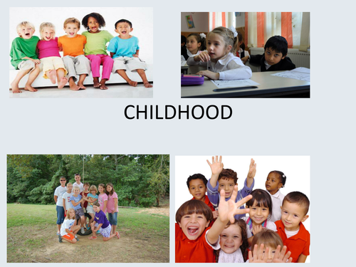 Childhood development - power-point presentation