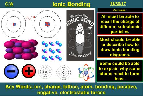 Ionic Bonding (Differentiated) | AQA C1 4.2 | New Spec 9-1 (2018)