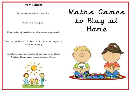 Parent Partnership Maths and Literacy packs