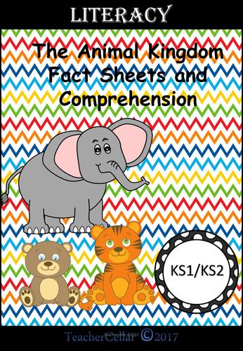 Reading about The Animal Kingdom KS1/2