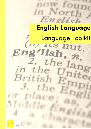 AQA AS Language Revision and Resources (New Specs)