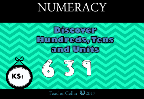 Place Value Discover Hundreds, Tens and Units