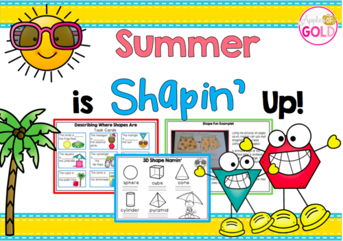 Summer is Shapin' Up!