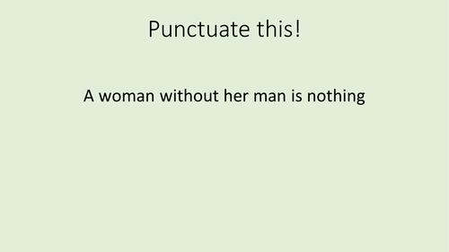 Punctuate This!