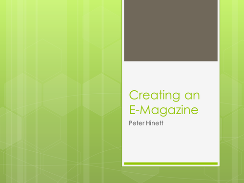 Creating an E-Magazine with InDesign