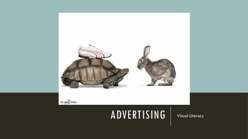 Visual Literacy: Adverts (Target Audience, Persuasive Techniques, AIDA Principle)