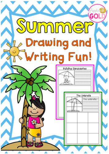 Summer Drawing and Writing Fun!
