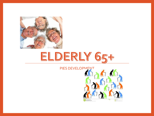 Elderly 65+presentation