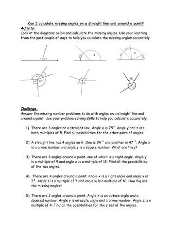 Text Connections Worksheet Pdf Properties Of Rectangles Or Quadrilaterals  Missing Lengths  Grade 6 Graphing Worksheets Pdf with Solve Linear Equations Worksheet Pdf Calculate The Missing Angles  Straight Line And Full Turn  Word Problems  Ks Year  Microscope Worksheet Middle School Pdf