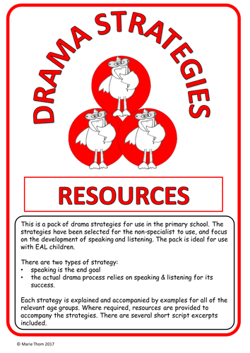 DRAMA STRATEGIES - 23 strategies for the non-specialist