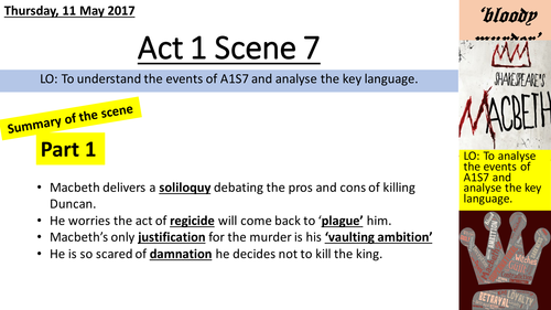macbeth act scene aqa by lizziedc teaching resources tes