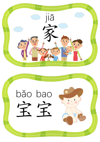 Family Members Flashcards