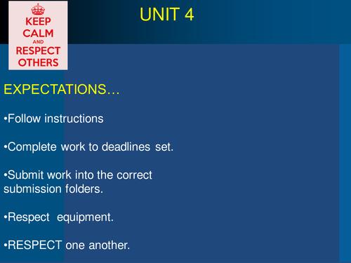Unit 4-Pre Production NQF BTec Level 3 Media