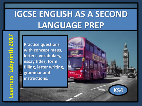 IGCSE English as a Second Language Prep