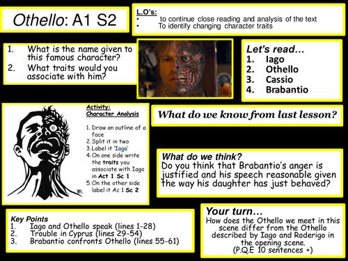 Othello Act 1 Scene 2