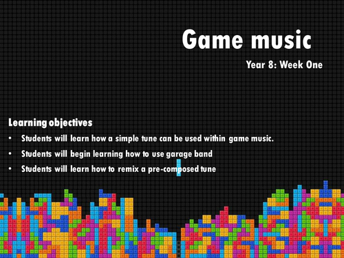 Video Game Music  (KS3)