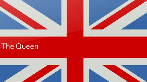 The Queen ( Elizabeth II ) Birthday Lesson / Assembly Presentation KS2