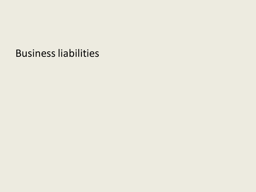 Types of business sole traders and PLCs: GCSE Business for Edexcel (9-1) (1BS0)