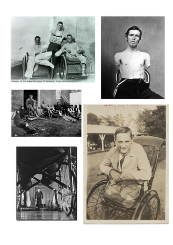 Disabled Wilfred Owen - war poetry unit KS3