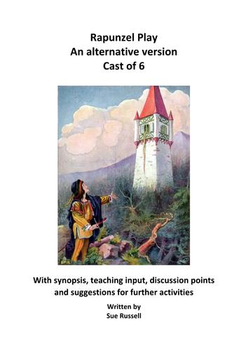 Rapunzel play cast of 6 an alternative version