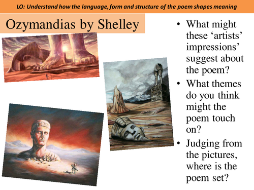 Ozymandias by Shelley - AQA Power and Conflict