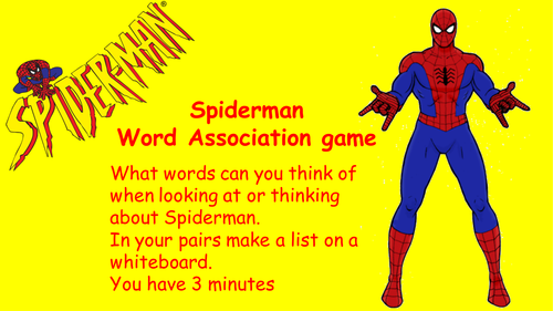 Writing a superhero poem