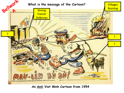 Revision on reasons for USA's intervention in Vietnam focussed on chronology and factual content