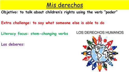 Y9 SPANISH VIVA MODULE 4: CHILDREN'S RIGHTS