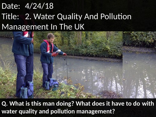 2. Water Quality And Pollution Management In The UK