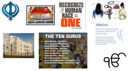 NEW AQA GCSE RELIGIOUS STUDIES: SIKHISM - BELIEFS ABOUT GOD