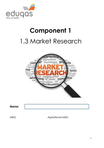 Market Research & Business Enterprise Workbook