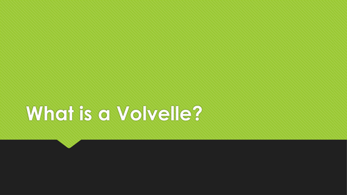 What is a Volvelle?