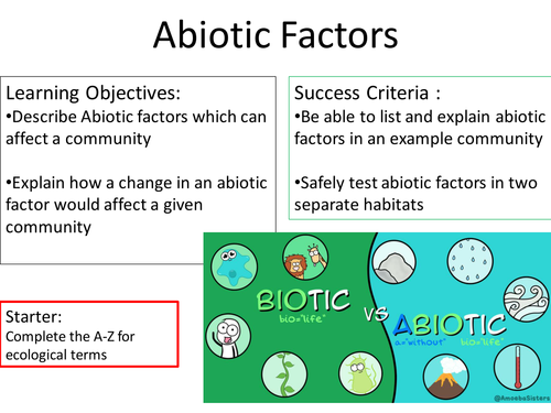 Biotic and abiotic factors ppt video online download.