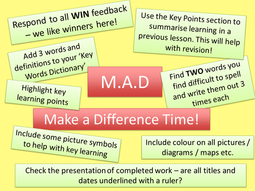 Make a Difference Time PPT
