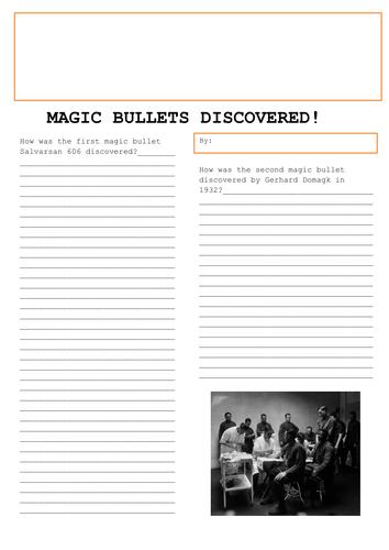 GCSE History Medicine in Britain L17 The Development of Magic Bullets