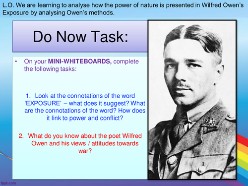 AQA Power and Conflict - Exposure